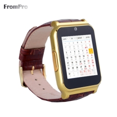 SmartWatch for Samsung S4/Note2/3 for HTC for LG for Xiaomi Android Phone Smartphones gold