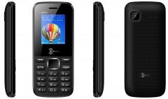 KENXINDA K6200 1.8 Inch Dual SIM - 1000mAh black