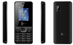 KENXINDA K6500 1.8 Inch Dual SIM - 1000mAh black