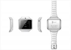 KENXINDA S-Watch2.0 SIM/TF Bluetooth Sport Pedometer WristWatch Smartwatch White