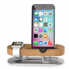 IPS-Z32 mobile phone watch bracket for mobile phones and watches to provide support and charging