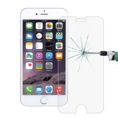 100 PCS For iPhone 7 0.26mm 9H Surface Hardness 2.5D Explosion-proof Tempered Glass Screen