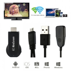 MiraScreen Push 1080P Wireless HD HDMI TAPER Mobile TV Projection RK2928