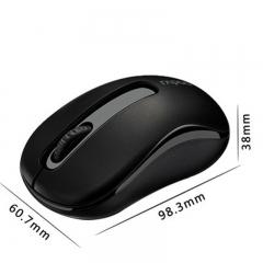 Rapoo M10 2.4G Mini Optical Wireless Mouse Reliable 1000DPI  white black