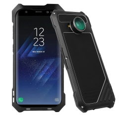 Samsung mobile phone cover with 3 in 1 HD Lens Alloy 3-Anti for Samsung S8 black 165mm*82mm*12.9mm