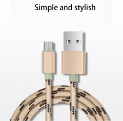 Apply Apple 7 iphone6 Mobile Phone Tiger Pattern Data lines Andrews Nylon Hemp Rope Charging Cable red ios no