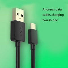 Data lines Apply To Andrews apple General Mobile Phone Lengthened Color Charging Cable black ios no