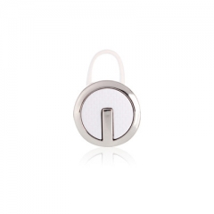 wireless Mini Bluetooth headset Hanging ear style tiny Invisible Car  Ear Plug type 4.1 General new white and  silver