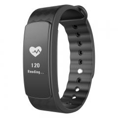 intelligent Heart rate monitor  Bluetooth  Watch waterproof intelligent movement wristband black