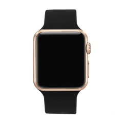 Outdoor Swim Waterproof Silica gel LED Watch fashion Student Apple Mirror digital Watch black