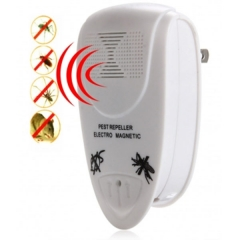 Ll - 3110 Ultrasonic Electric Pest Repeller Home Indoor Pest Control Solution white one size