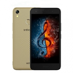 Infinix Hot 5 - 5.5-Inch HD (2GB, 16GB ROM) Android 7, 8MP + 5MP Dual SIM 3G Smartphone gold