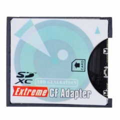 CHENYANG Camera SD SDHC SDXC to High-Speed Extreme Compact Flash CF Type I Memory Card Adapter CHENYANG