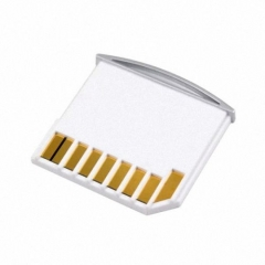 CHENYANG Micro SD TF to SD Card Kit Mini Adaptor for Extra Storage Macbook Air / Pro / Retina White CHENYANG