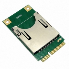 CHENYANG Mini PCI-E Express to SD SDHC MMC Memory Card Converter Reader