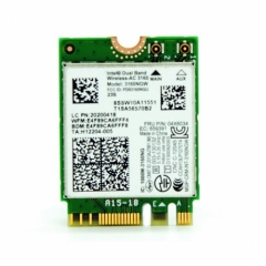 CHENYANG Intel 802.11AC AC3160 3160NGW NGFF M.2 2.4G 5G 433M Hotspot WIFI Wireless & Bluetooth 4.0 Card for Laptop CHENYANG