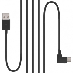 CHENYANG 100cm Right Angled USB 3.1 Type C USB-C to USB 2.0 Cable 90 Degree Connector for Tablet  & Mobile Phone
